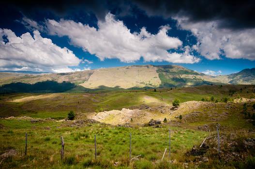 Sierras grandes de Calamuchita