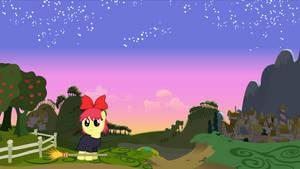 Ghibli Crossover - Apple Bloom