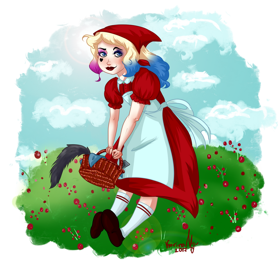 Harley Red Riding Hood by Karin-Uz