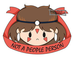 Princess Mononoke, Not a People Person by ImperfectPeanut