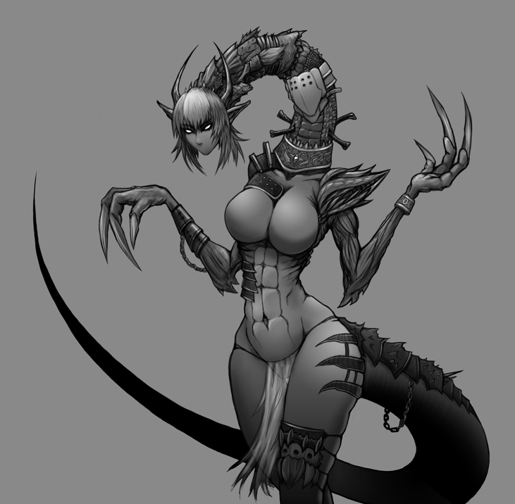 Cestree, Demon Noble by Redlife