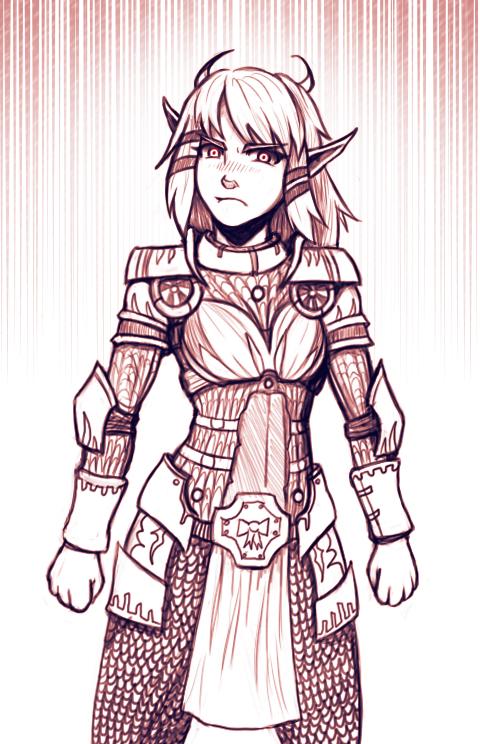 Ribbon Armor by Redlife