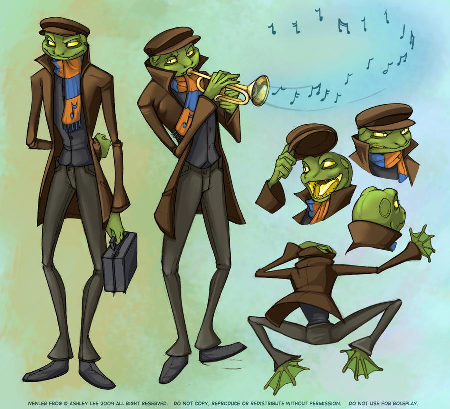 Wenler Frog by kiraxlee