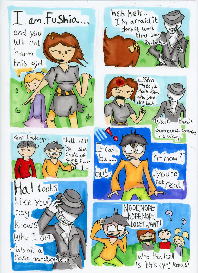 Offenderman the Comic 3 by IceBridget