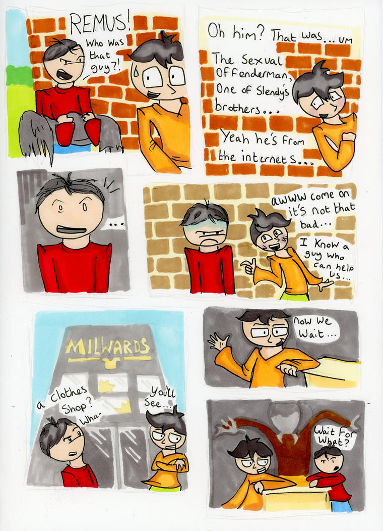 Offender Comic 5 by IceBridget