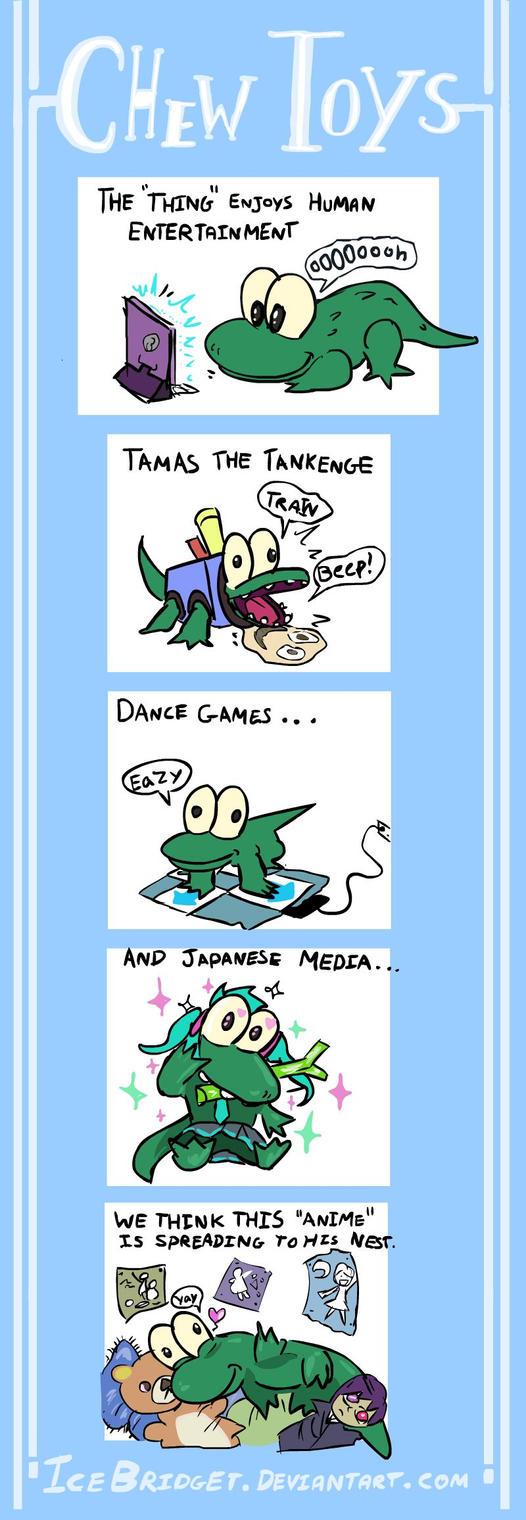 Bernie comic - Chew Toys by IceBridget