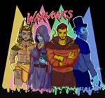 Waxworks villain BOYZ by IceBridget