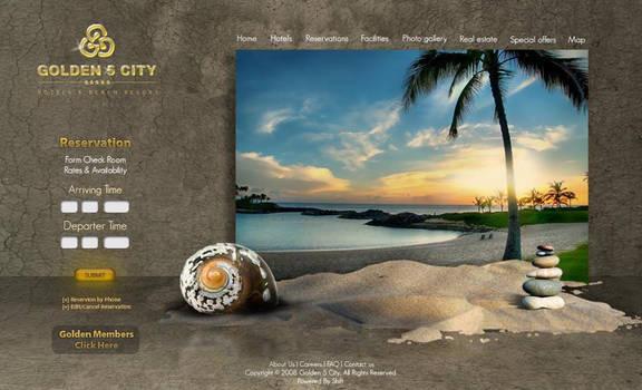 Golden 5 City website