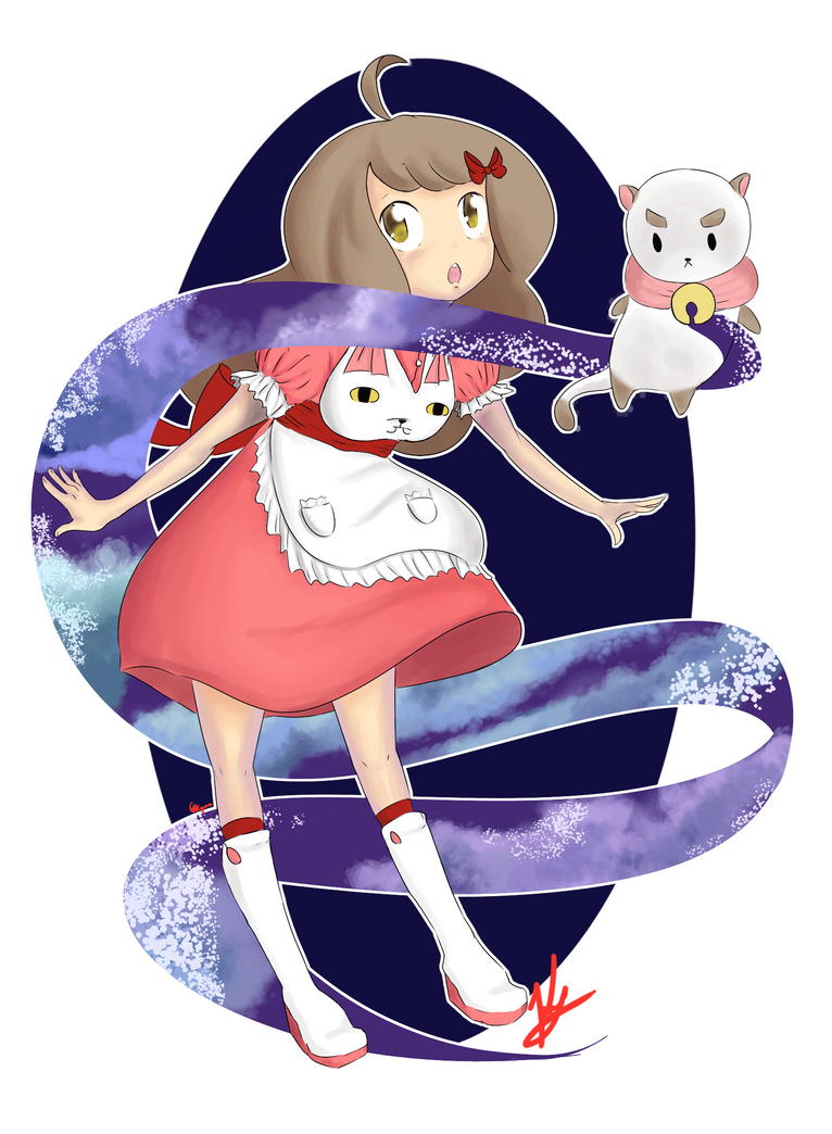 Bee and Puppycat by keyone1