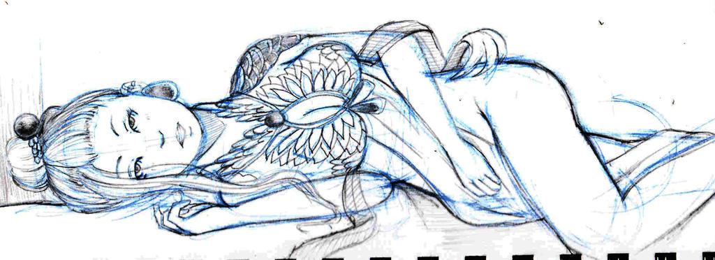 doodle- Yawen by keyone1