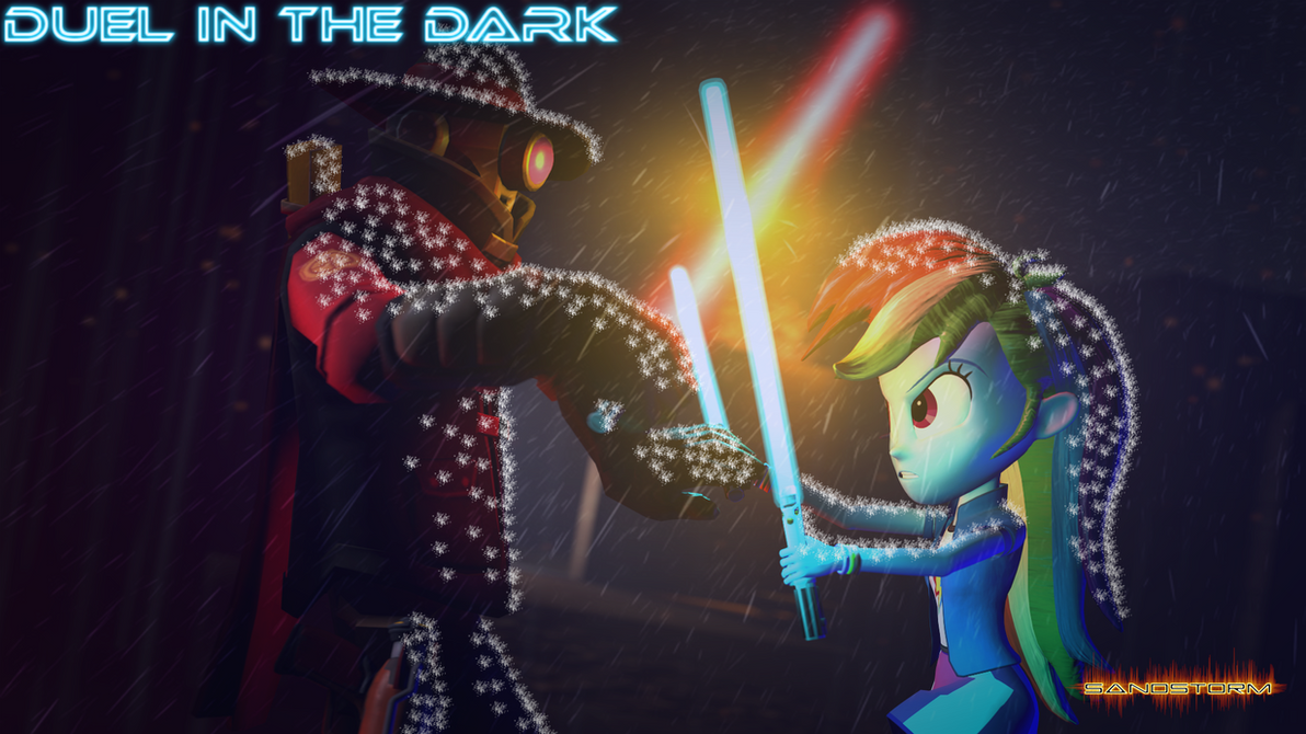 Duel in the Dark [SFM] by Sandstorm-Arts