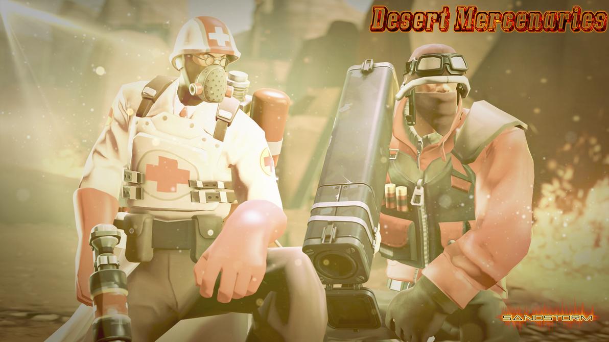 Desert Mercenaries [SFM] by Sandstorm-Arts