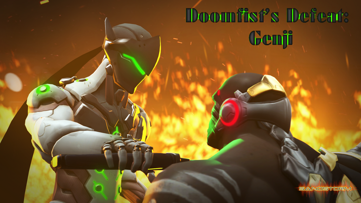 Doomfist's Defeat: Genji [SFM] by Sandstorm-Arts