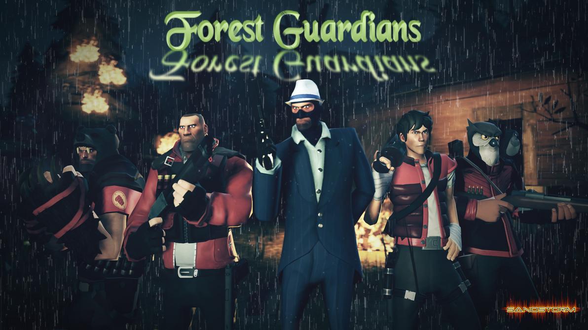 Forest Guardians [SFM Fan Art] by Sandstorm-Arts