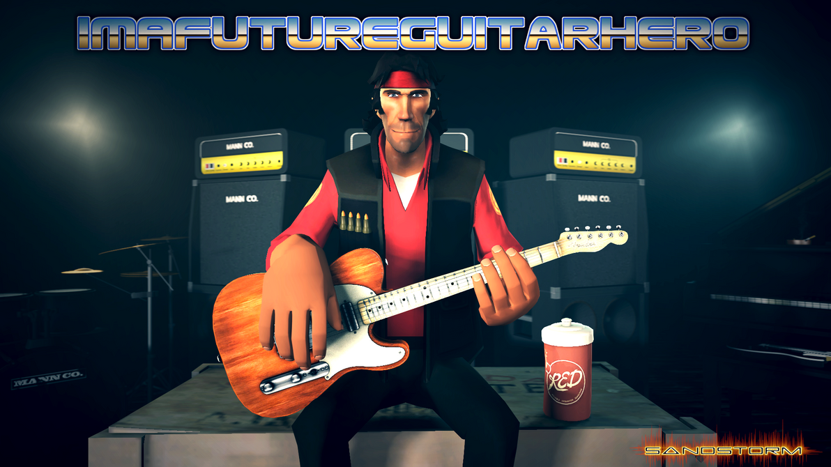ImAFutureGuitarHero [SFM Fan Art] by Sandstorm-Arts
