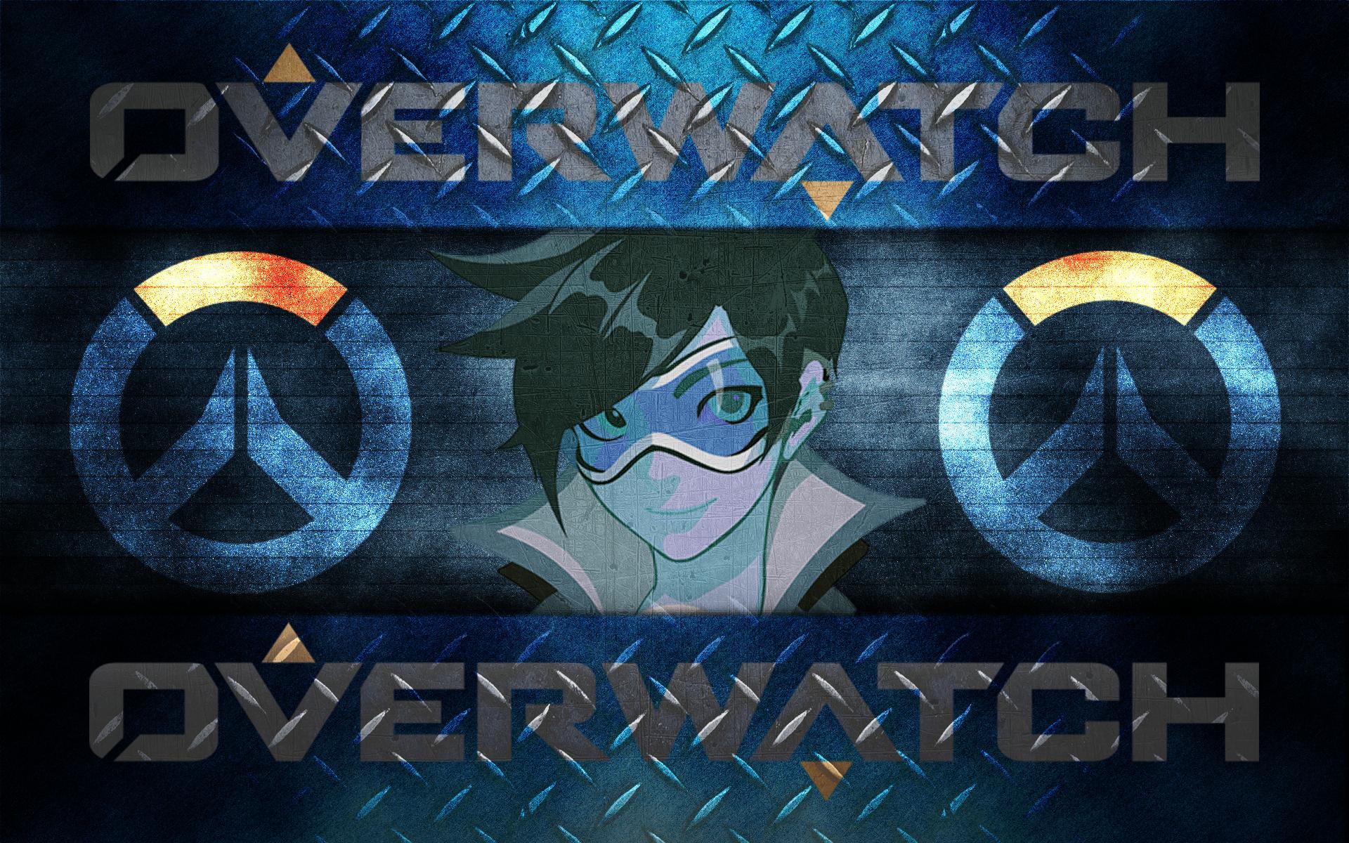 Overwatch: Tracer [Desktop Wallpaper] by Sandstorm-Arts