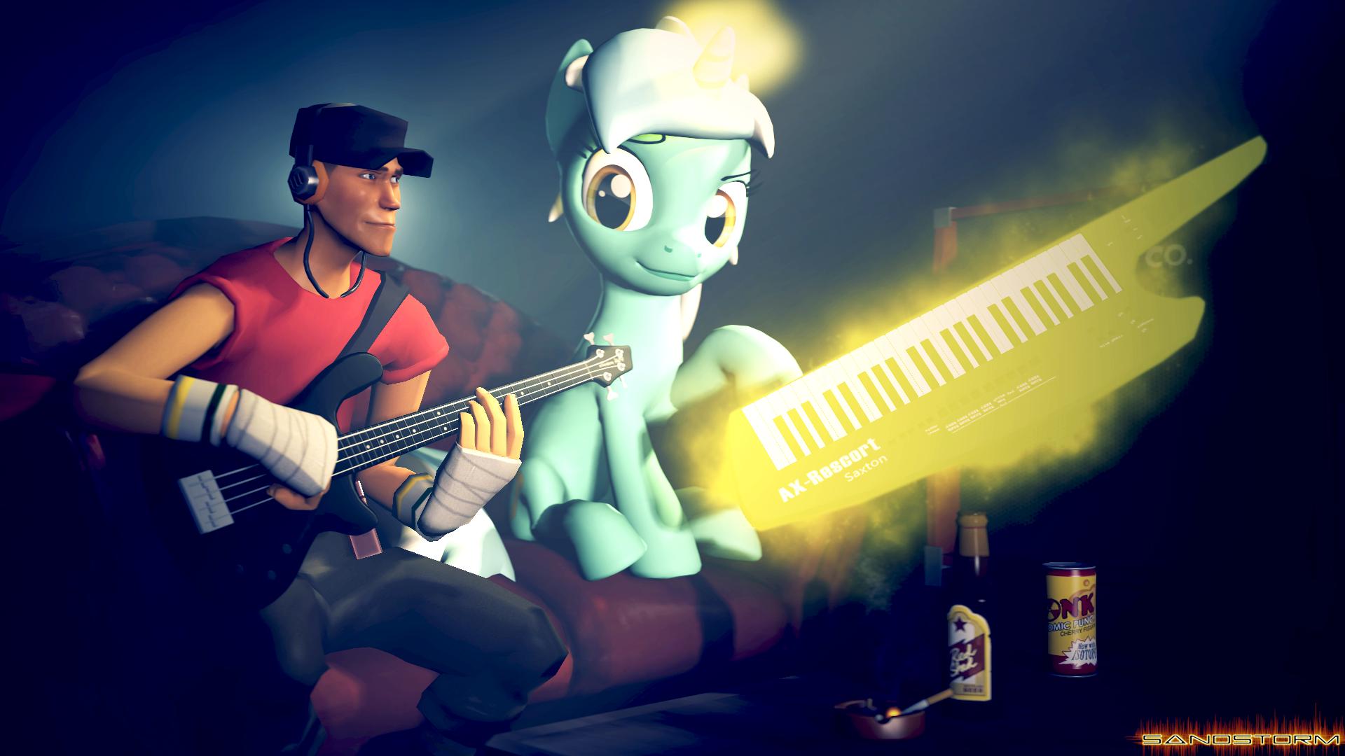 Music Buddies [SFM] by Sandstorm-Arts