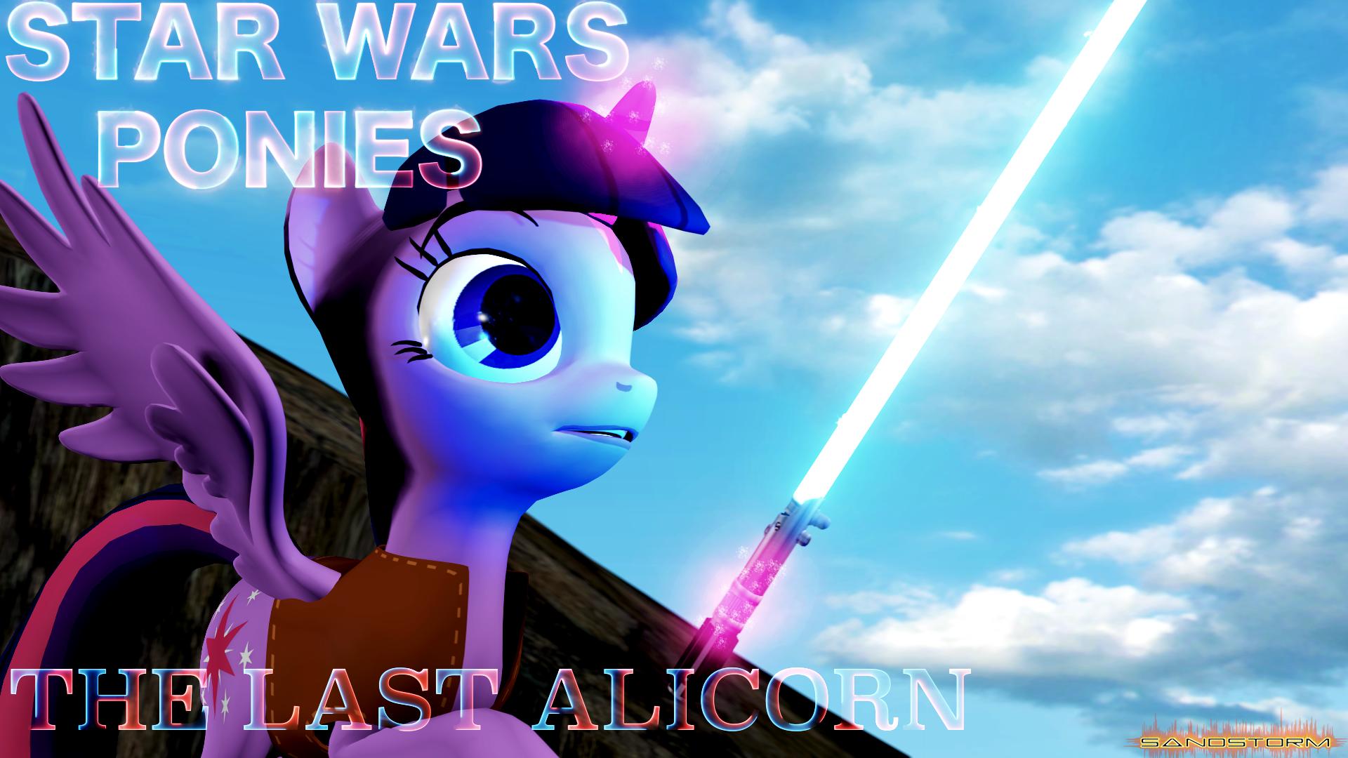 Star Wars Ponies: The Last Alicorn [SFM] by Sandstorm-Arts