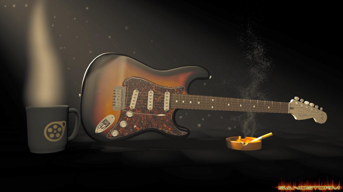 Fender Stratocaster [SFM] by Sandstorm-Arts