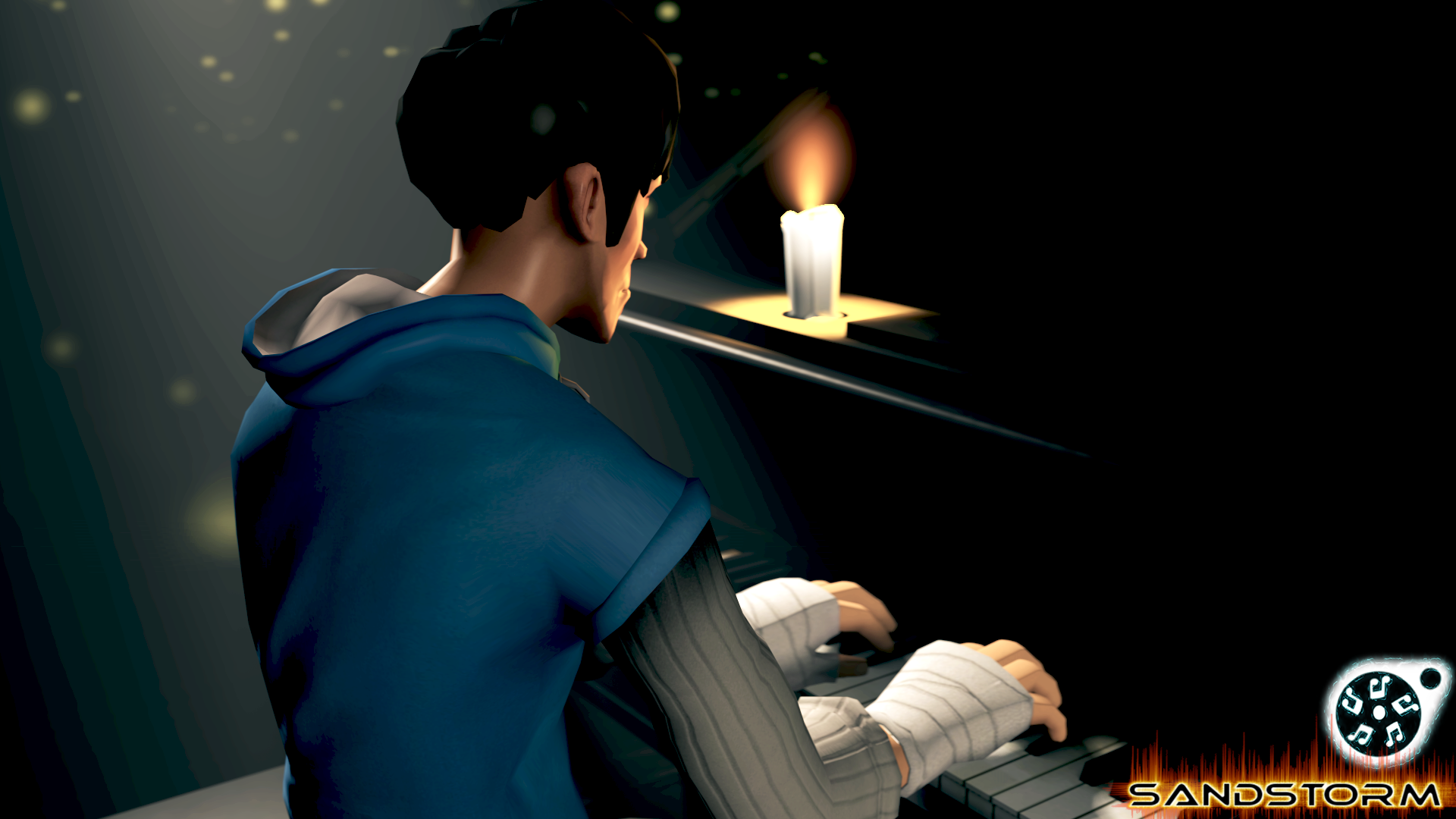 Piano Player [SFM] by Sandstorm-Arts