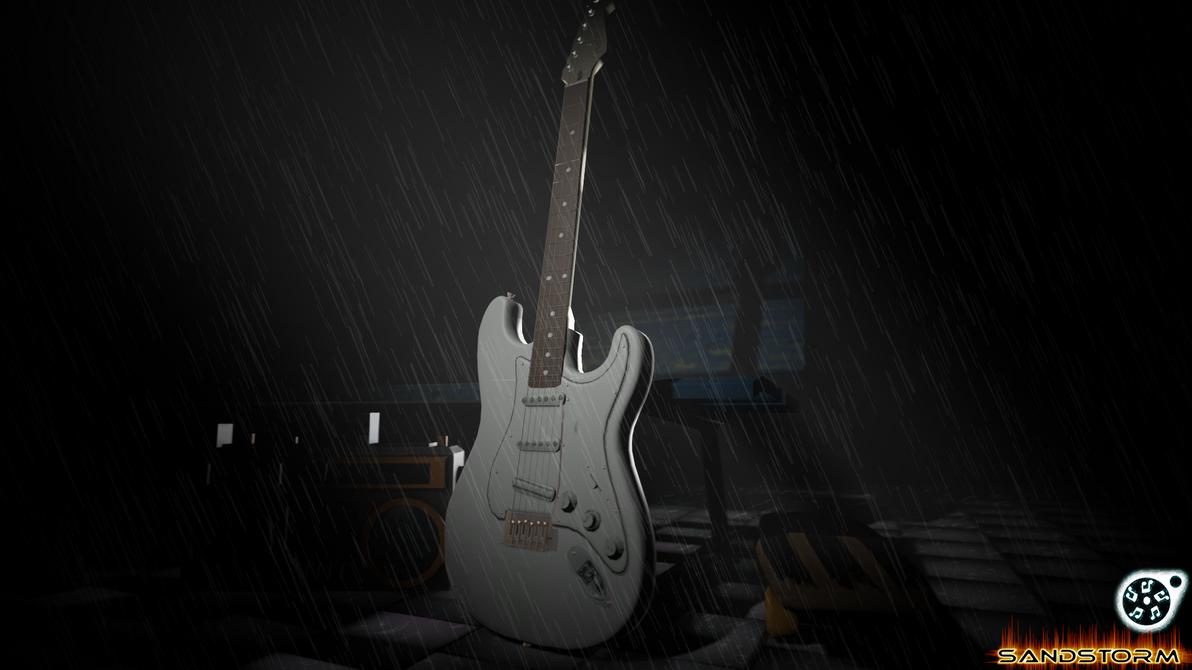 Fender Stratocaster Straw (SFM) by Sandstorm-Arts