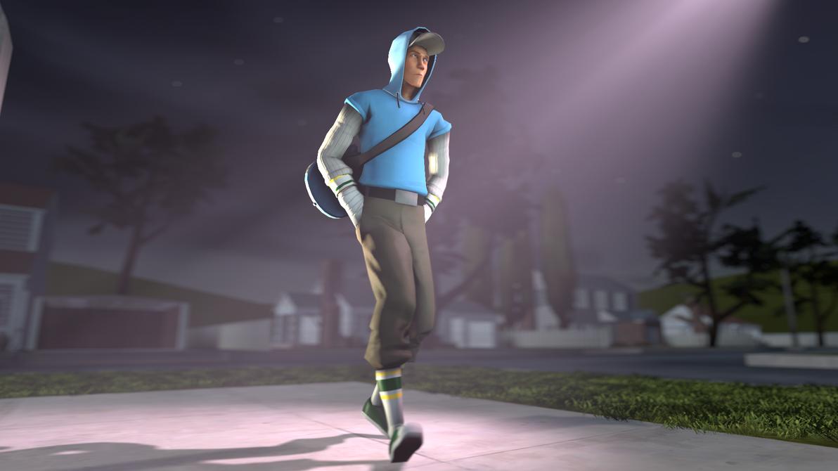 [SFM] Scout Pocket Walk Animation Test (Link Below by Sandstorm-Arts