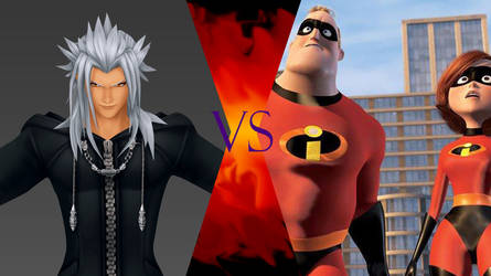 Xemnas vs The Incredibles by SamBiswas95