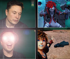 Elon Musk reacts to Kingdom Hearts