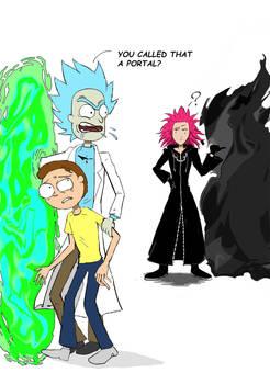 Rival Between Portals