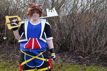 Sora Kingdom Hearts II by LittelMoonie