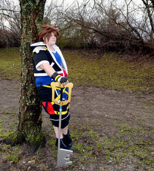Kingdom Hearts II Sora by LittelMoonie