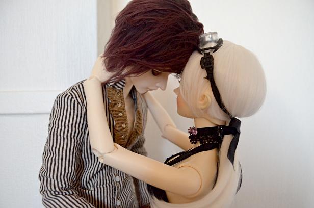Dean and Miriam by LittelMoonie