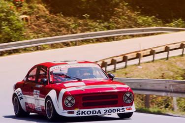 SKODA 200 RS by pawelsky