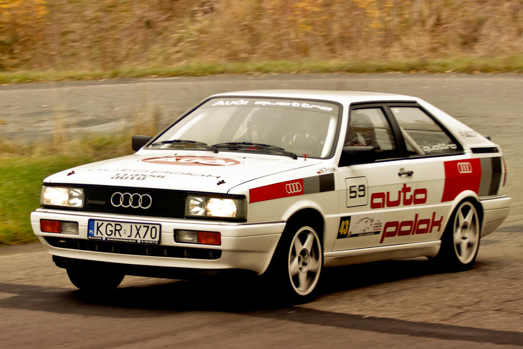 Audi 80 B2 Coupe Qattro By Pawelsky On Deviantart