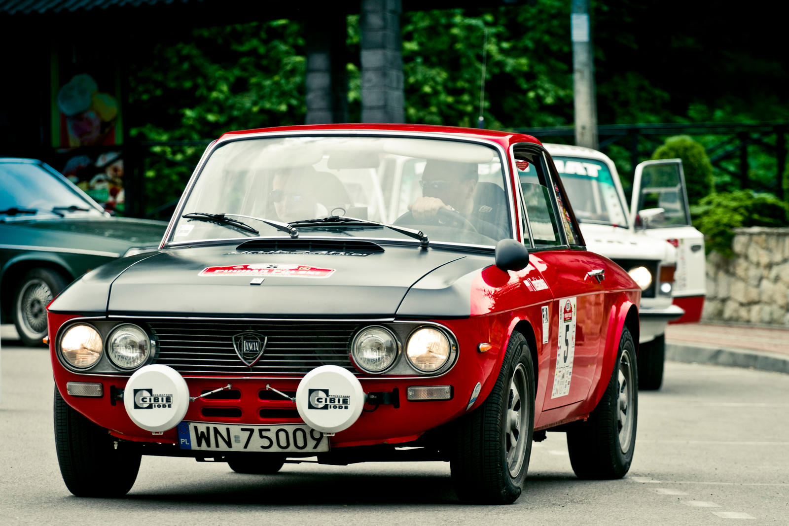 Lancia Fulvia Coupe 1.3S Monte Carlo by pawelsky