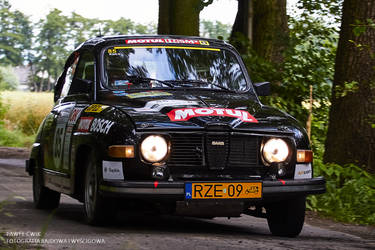 SAAB 96 V4 Rally by pawelsky