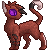 Griffinfire pixel commish by Eatts