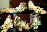 Leopard Gecko girl figure