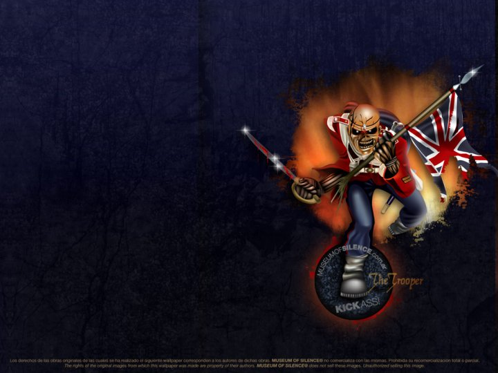 Iron Maiden wallpaper by victoriapel on DeviantArt