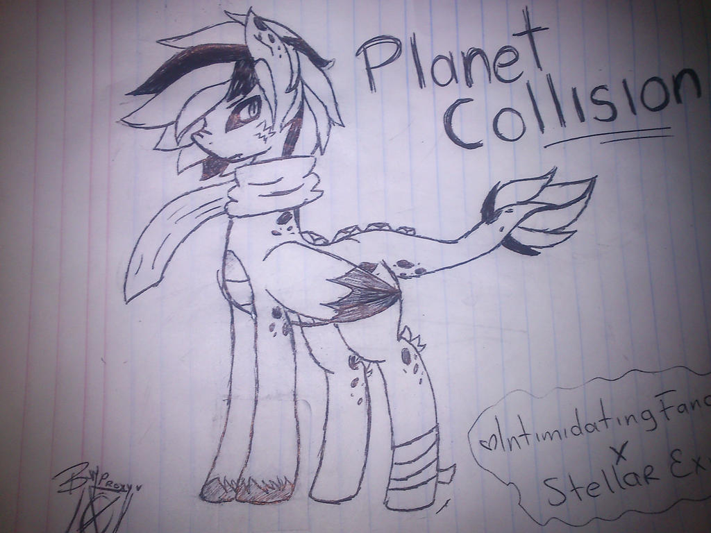 Planet Collision by WinterChild6