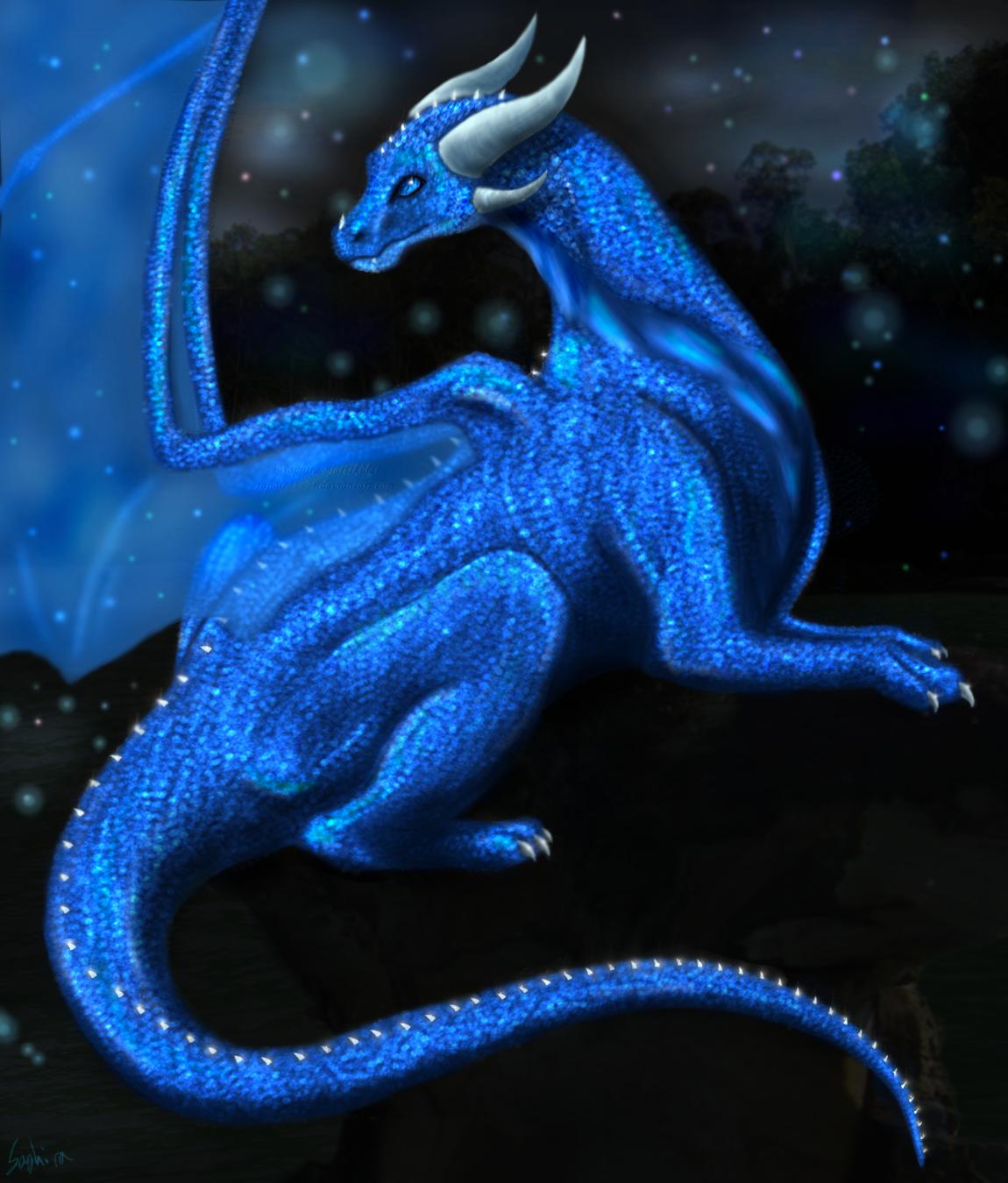 Sapphire Gleam by Sapphiresenthiss