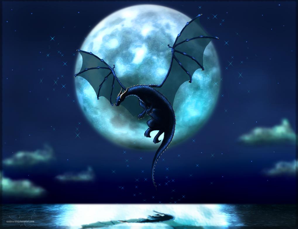 Blue Moon by Sapphiresenthiss