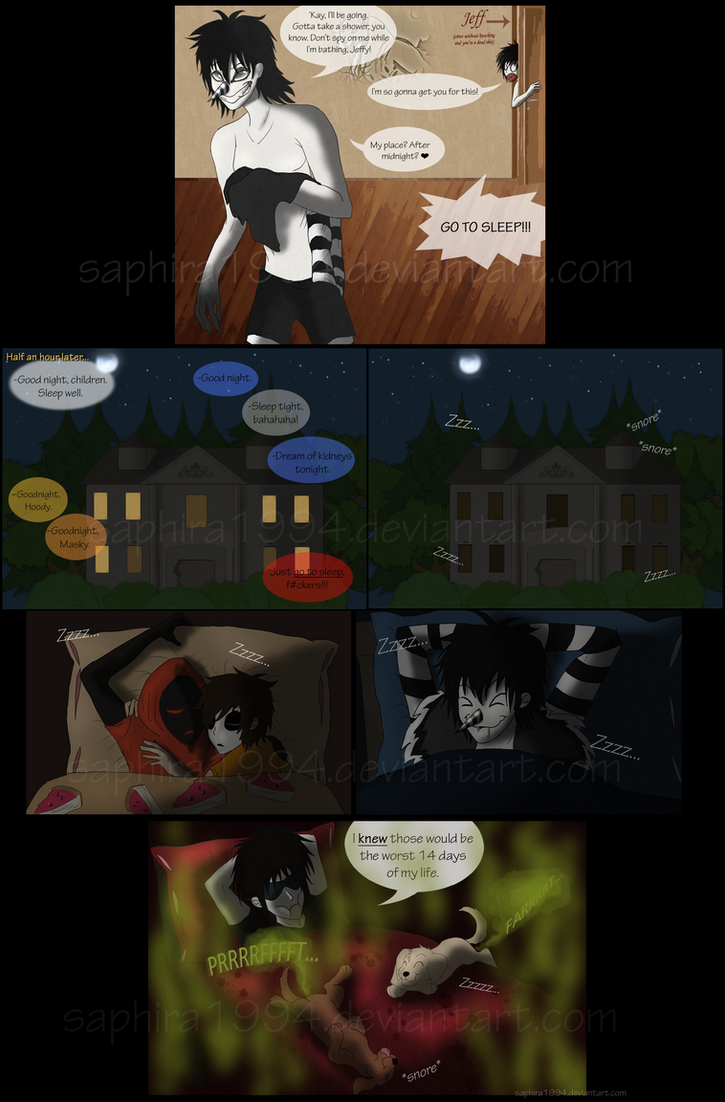 adventures with jeff the killer page 14 by