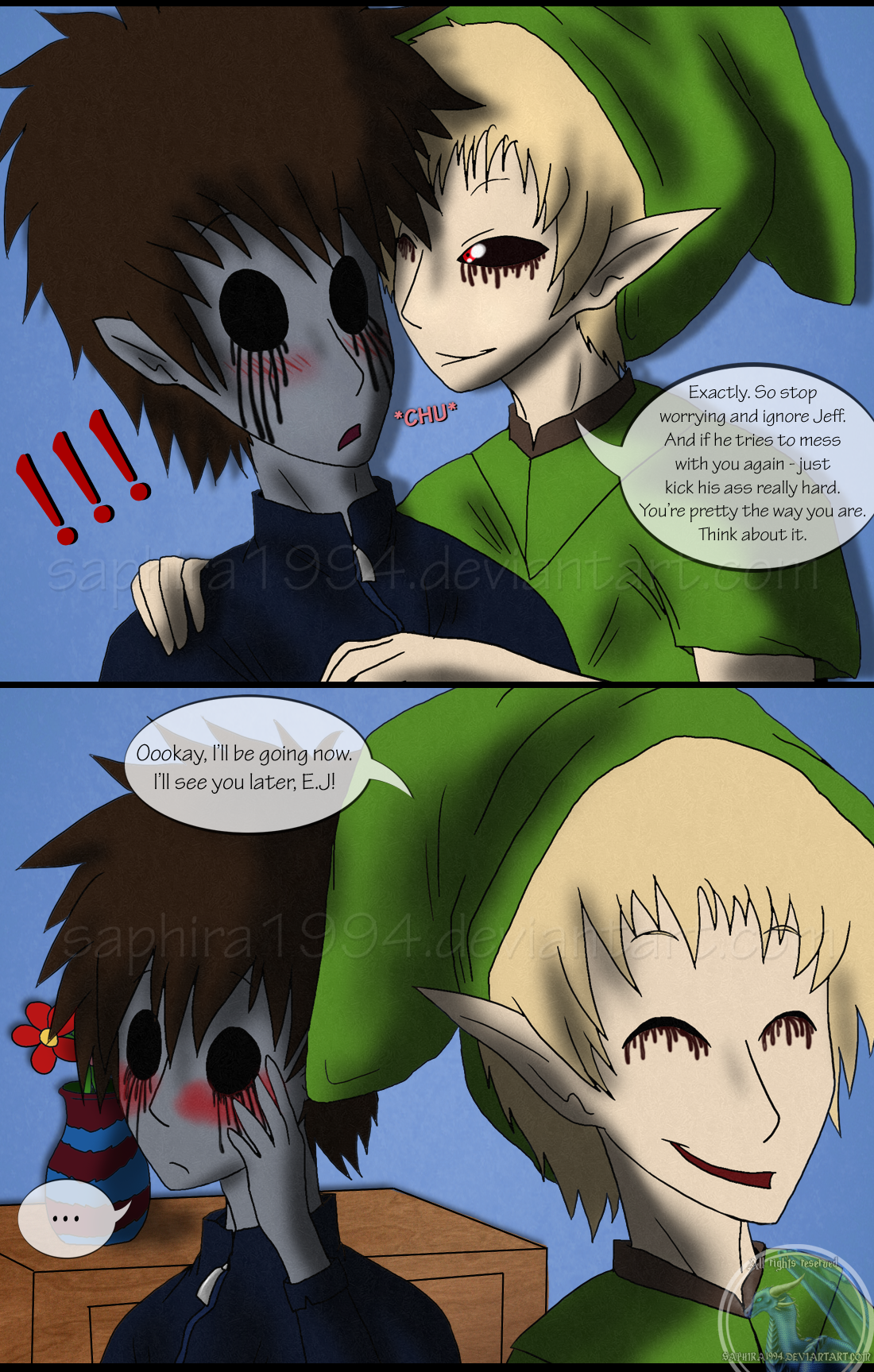 adventures with jeff the killer page 45 by