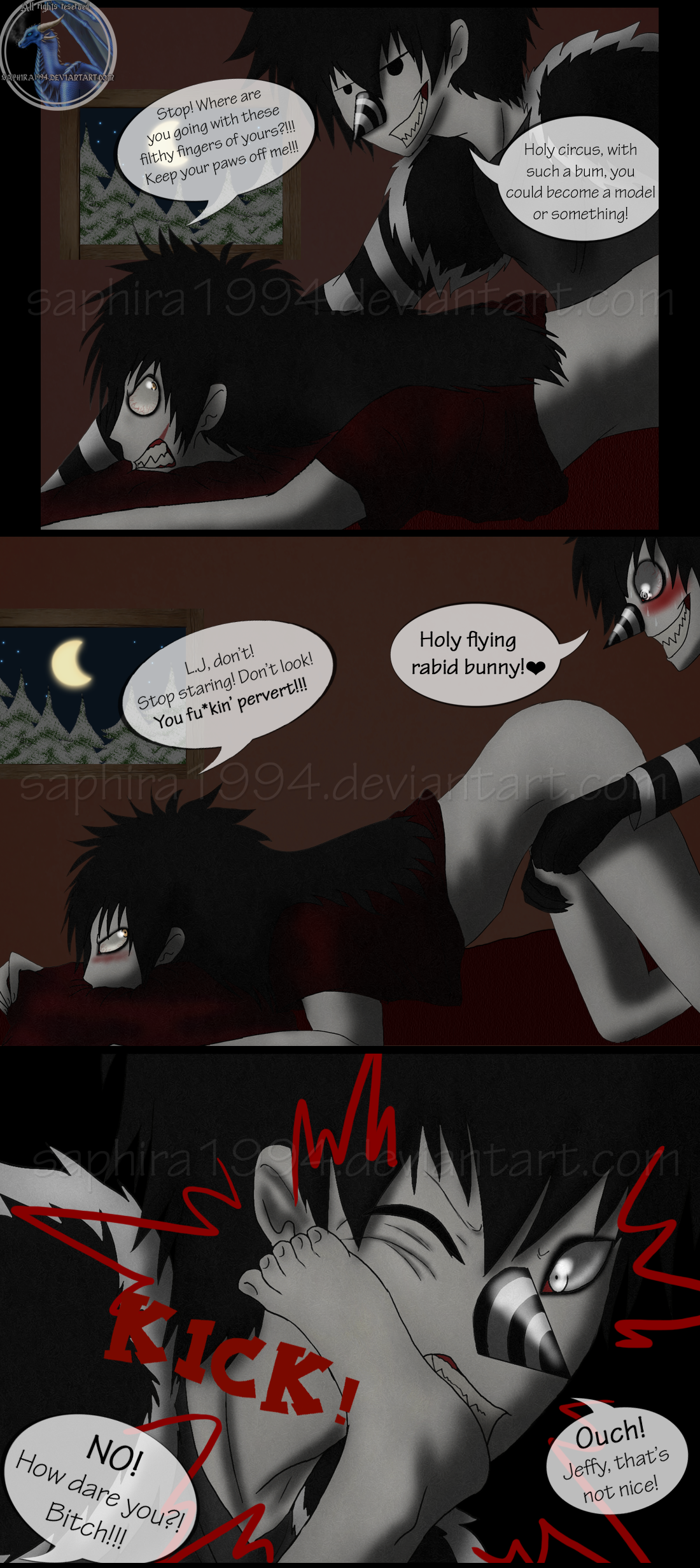 Adventures With Jeff The Killer - PAGE 52 by Sapphiresenthiss