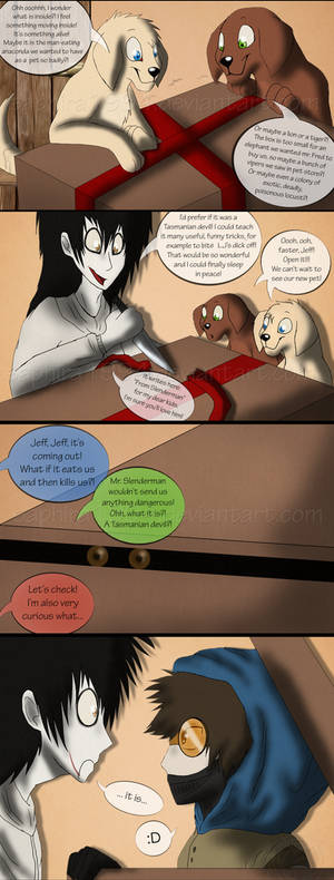 Adventures With Jeff The Killer - PAGE 58