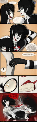 Adventures With Jeff The Killer - PAGE 78 by Sapphiresenthiss