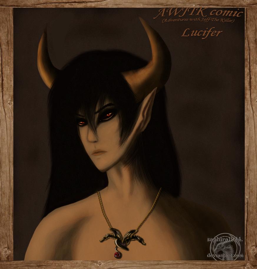 AWJTK comic - Realistic Lucifer Speedpaint by Sapphiresenthiss