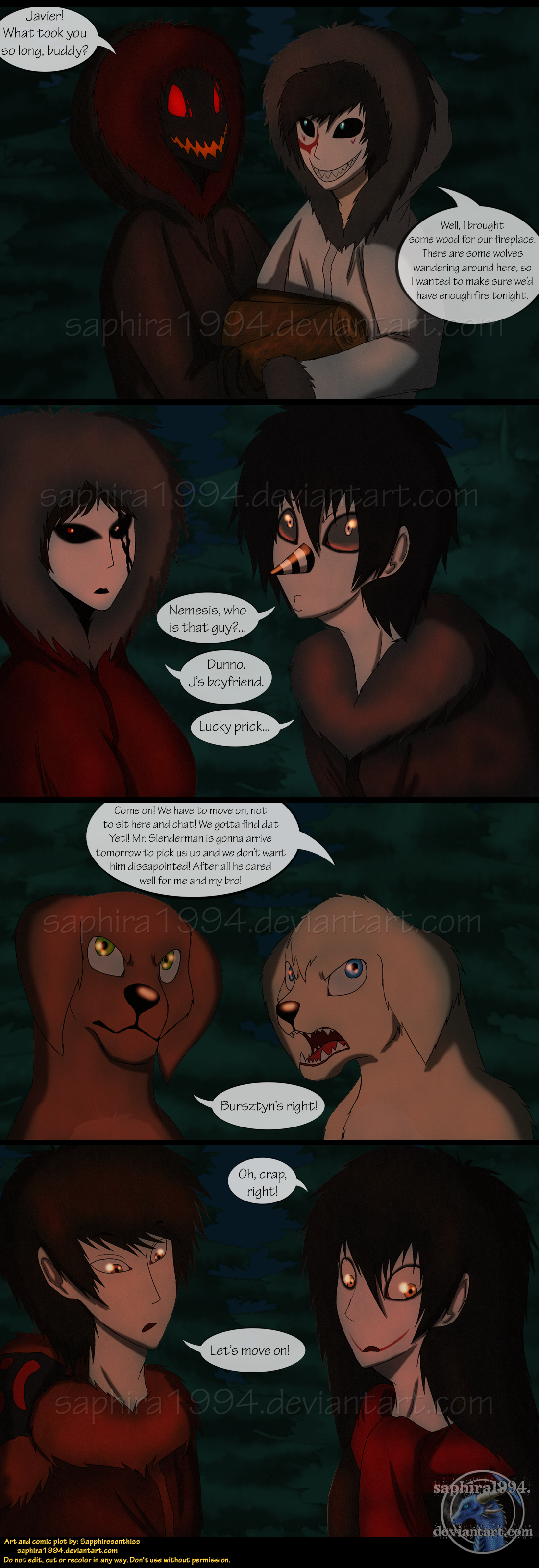 Adventures With Jeff The Killer - PAGE 91 by Sapphiresenthiss