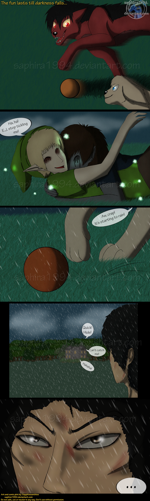 Adventures With Jeff The Killer - PAGE 100 by Sapphiresenthiss